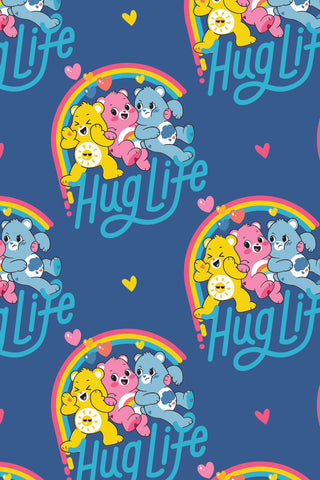 Care Bears Believe Hug Life Navy