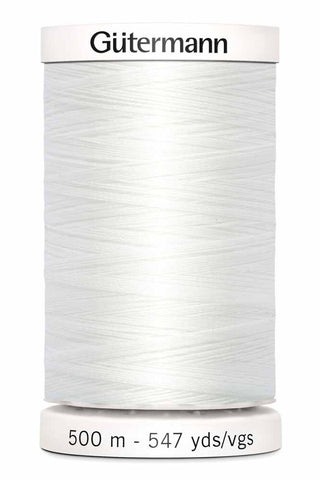 Gütermann Sew-All Thread 500m #20 White