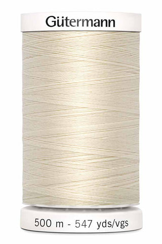 Gütermann Sew-All Thread 500m #22 Eggshell
