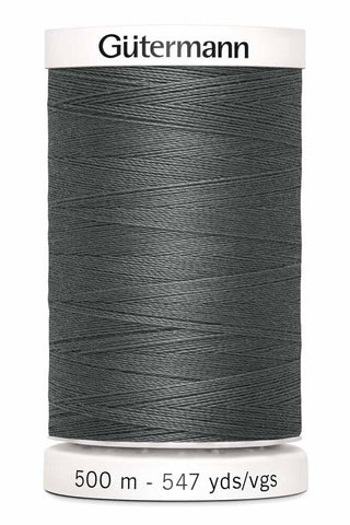 Gütermann Sew-All Thread 500m #115 Rail Grey