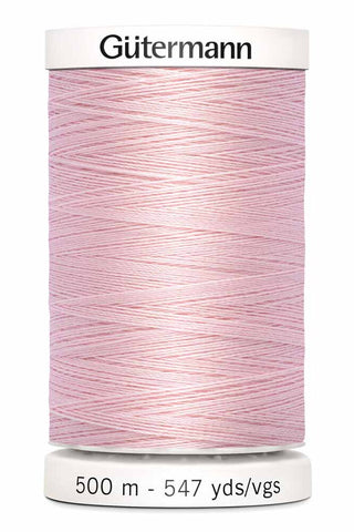 Gütermann Sew-All Thread 500m #305 Petal Pink