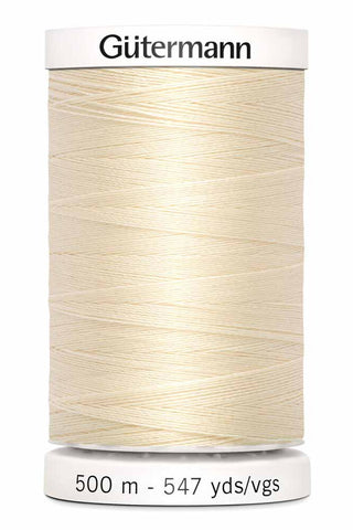 Gütermann Sew-All Thread 500m #800 Ivory