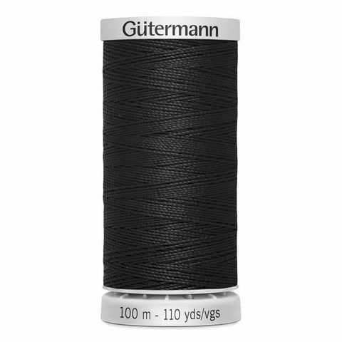 Extra Strong Thread 100m Black