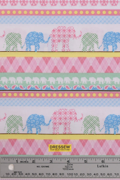 Henry Glass Elephant Stripe