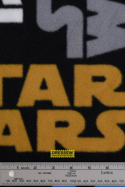 Star Wars Fleece Tossed Logo Multi