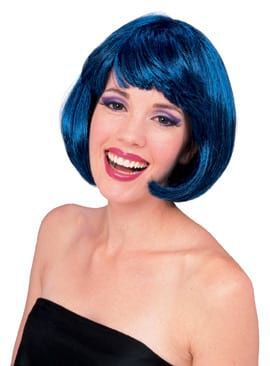 Super Model Wig Blue Mix