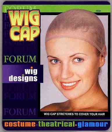 Wig Cap Lt. Brown