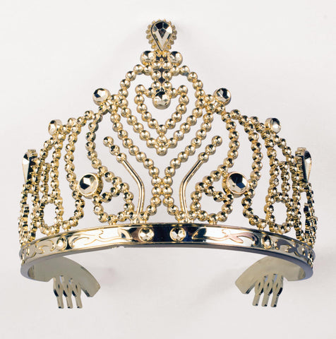 Tiara with Combs Gold