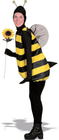 Bumblebee Costume Adult Black / Yellow