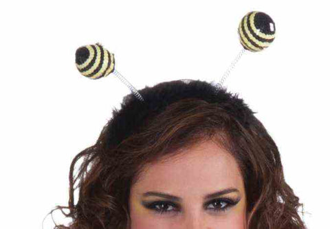 Bumblebee Antenna Headband Black / Yellow