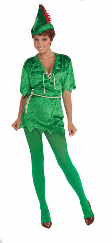 Peter Pan Costume Adult - Ex. Small / Small