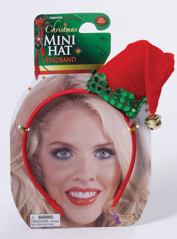 Christmas Mini Hat Red