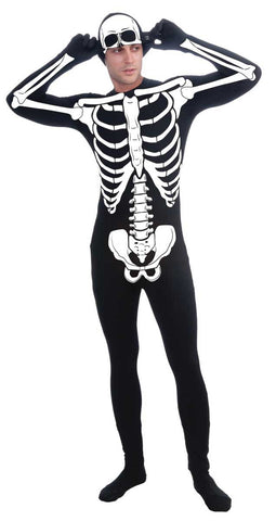 Disappearing Man Bone Suit Adult - Standard
