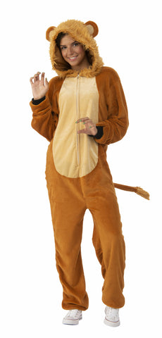 Lion Onesie Adult - Large / Ex. Large