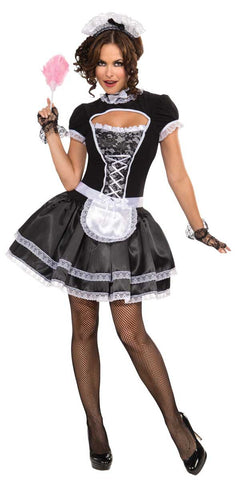 Suzette French Maid Costume Adult