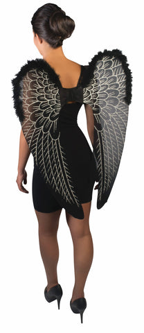 Fantasy Wings Black / Silver