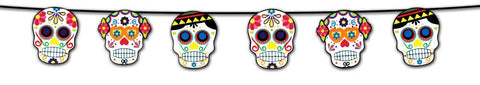Day of the Dead Garland 7 feet