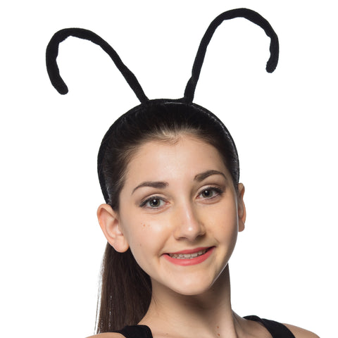 Bee Antenna Headband Black