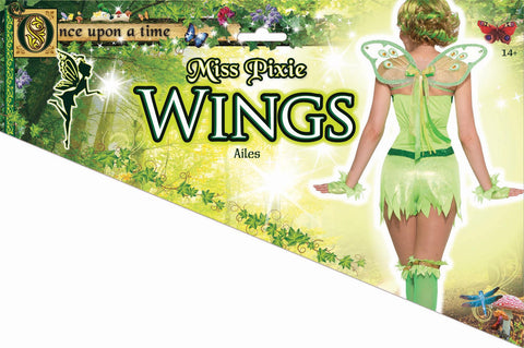 Pixie Wings Green