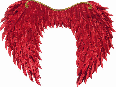 Metallic Wings Red