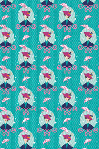 Disney Mary Poppins The One and Only Teal / Multi