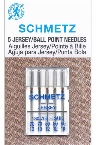 Schmetz Ballpoint Needles Assorted Sizes 70-90