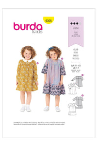 Burda - 9305 Child Dress with Yoke