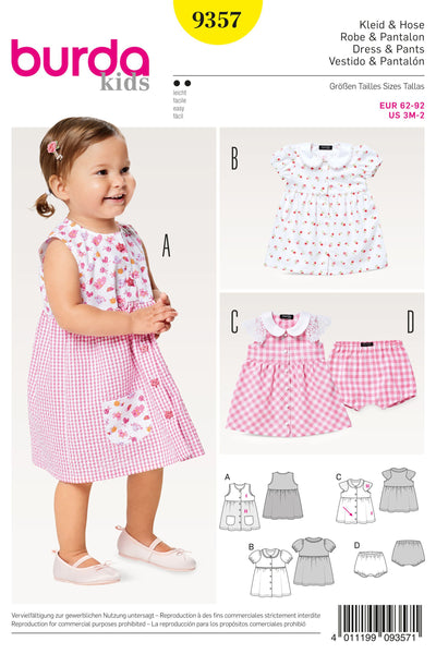 Burda - 9357 Child Dress