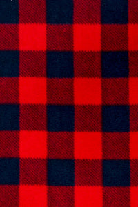 Buffalo Check Fleece Red / Black
