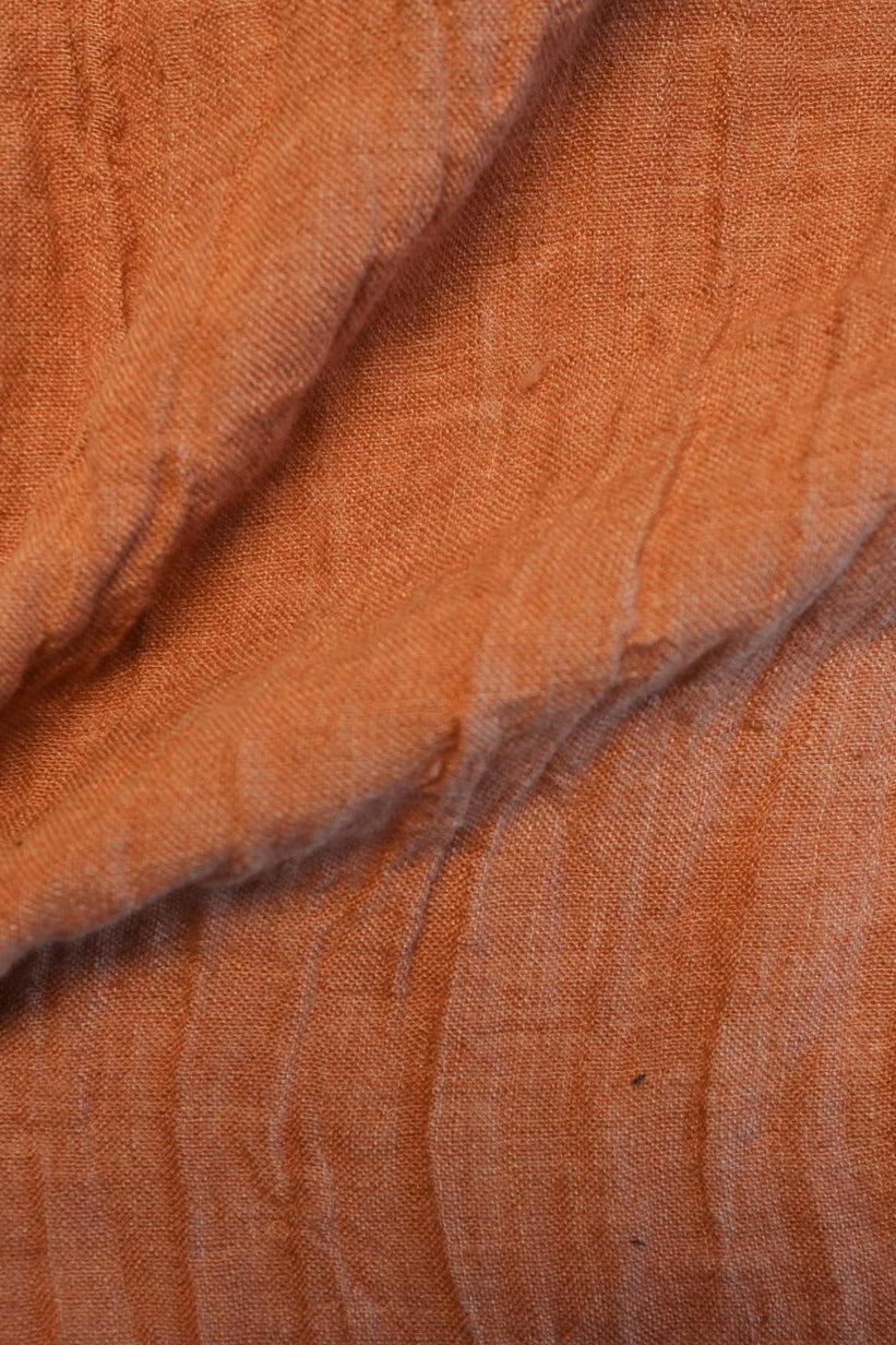 Athena Yarn Dyed Linen Rust