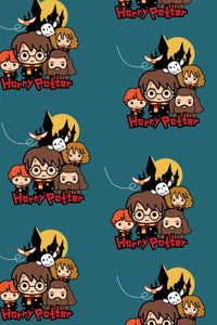 Harry Potter Fleece Group Pose Teal