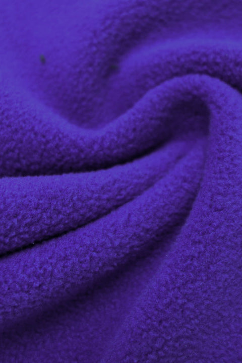 Glacier Anti-Pill Fleece Eggplant