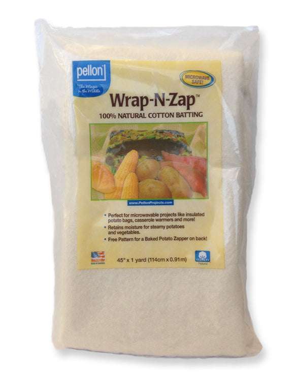 Wrap-N-Zap Batting Natural
