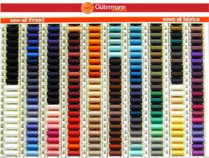 Gütermann Sew-All Polyester Thread 100m Match Your Fabric