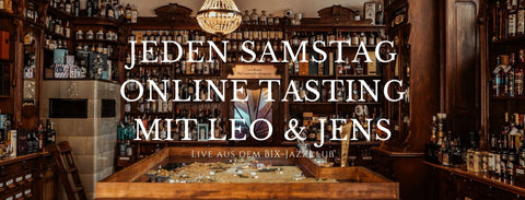 03.04.21 Leo's & Jens' Favoriten - Whisky Live Online Tasting Set für 2 Personen