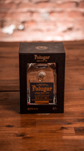 Polugar Single Malt Rye 38,5% 0,7l