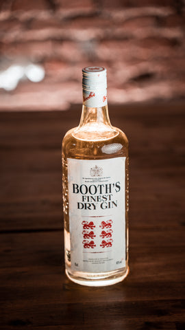 Booth's Finest Dry Gin 40% 0,75l - Vintage bottled 1990s