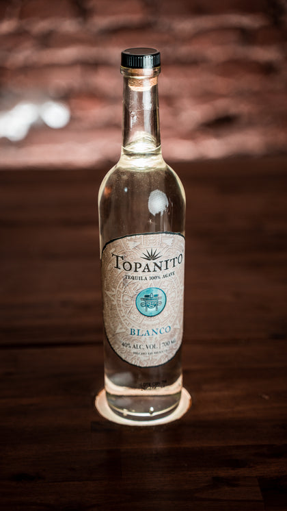 Topanito Blanco Tequila 100% Agave 40% 0,7l