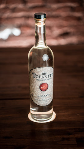 Topanito Blanco Tequila 100% Agave 50% 0,7l