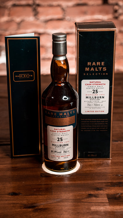 Rare Malt Millburn 25 Distilled 1975 61,9% 0,7l