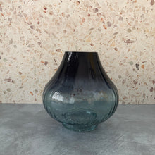 Load image into Gallery viewer, Petrol Blue Optic Vase