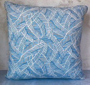 Fossils Ocean Scatter Cushion