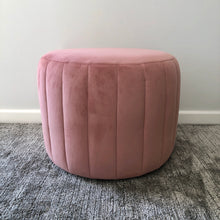 Load image into Gallery viewer, Candy Floss Jewel Ottoman