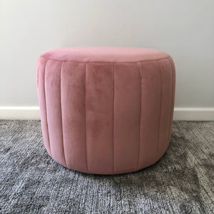 Candy Floss Jewel Ottoman