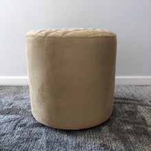 Load image into Gallery viewer, Crown Caramel Diamond Ottoman
