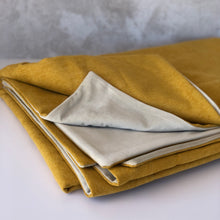 Load image into Gallery viewer, Honey Ochre Reversible Throw