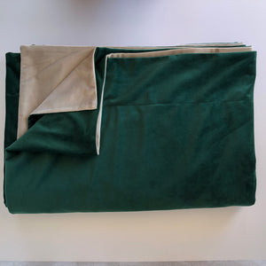 Emerald Dark Reversible Throw