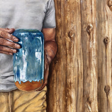 Load image into Gallery viewer, Jonah and the pot painting - Linen & Myrrh