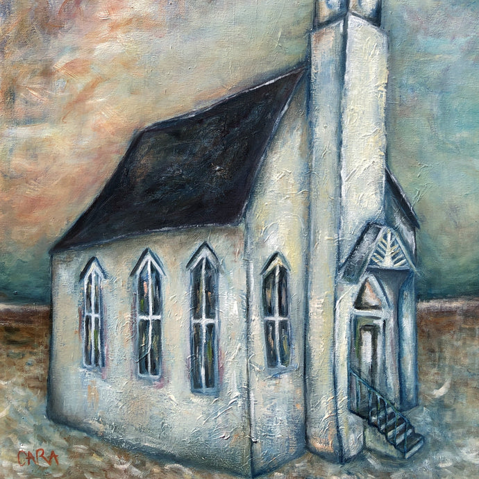 Church Painting - Linen & Myrrh