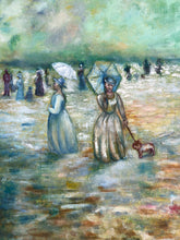Load image into Gallery viewer, The Umbrella ladies Painting - Linen & Myrrh